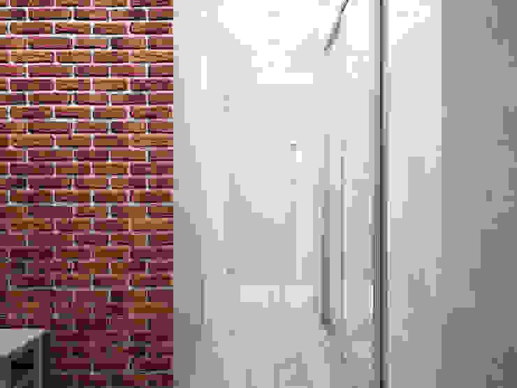 Дизайн-проект трехкомнатной квартиры 94 м2, 2015г Коридор, прихожая и лестница в модерн стиле от Artstyle Модерн