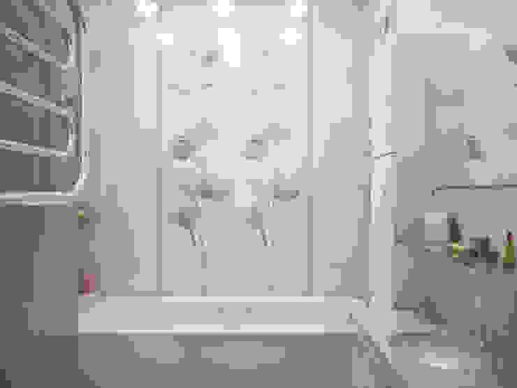 Дизайн-проект трехкомнатной квартиры 94 м2, 2015г Ванная комната в стиле модерн от Artstyle Модерн