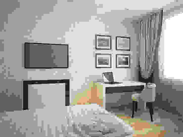 Дизайн-проект трехкомнатной квартиры 105 м2_ 2015г Спальня в классическом стиле от Artstyle Классический