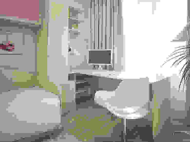 Дизайн-проект трехкомнатной квартиры 105 м2_ 2015г Детская комнатa в классическом стиле от Artstyle Классический