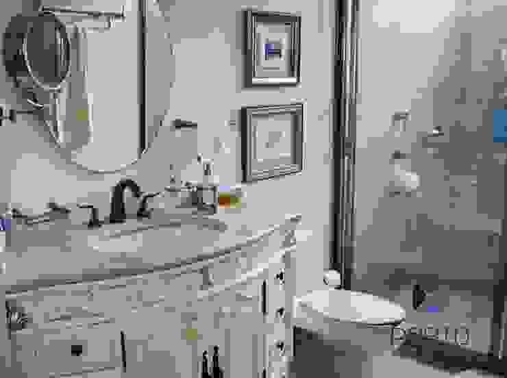 """proyecto residencial """"SR01"""" Baños eclécticos de PORTO Arquitectura + Diseño de Interiores Ecléctico"""