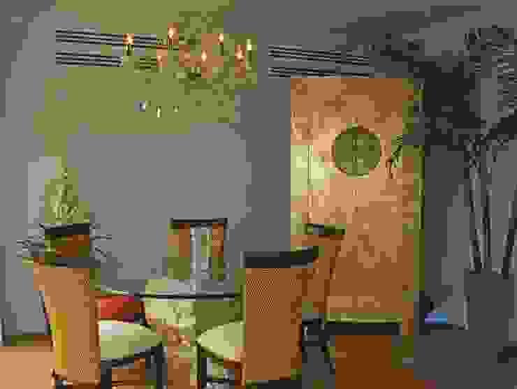 proyecto residencial <q>SR01</q> Comedores eclécticos de PORTO Arquitectura + Diseño de Interiores Ecléctico