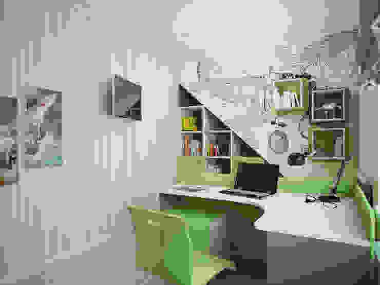 Дизайн-проект детской комнаты Детская комната в стиле модерн от Artstyle Модерн