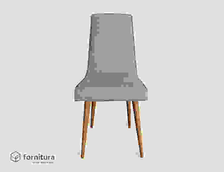 Krzesło gięte lata 60-te od Fornitura Minimalistyczny