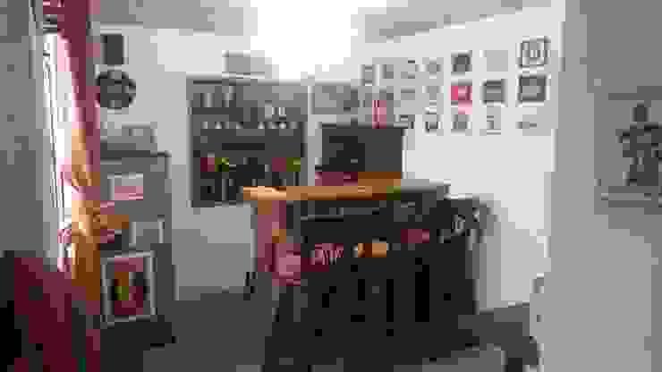 Bar familiar personalizado. de MVP arquitectos Minimalista Madera maciza Multicolor