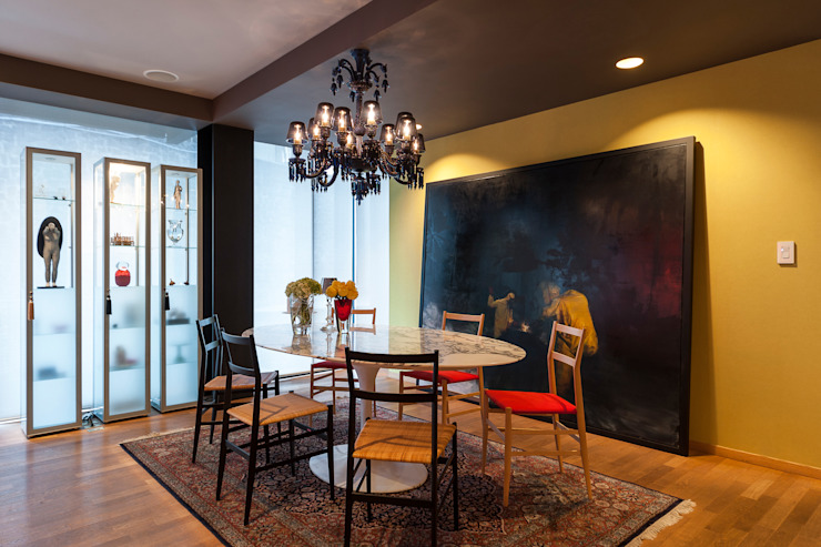 Eclectic style dining room by MAAD arquitectura y diseño Eclectic