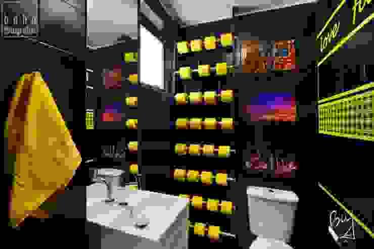 Office Descolado Banheiros modernos por Bethina Wulff Moderno