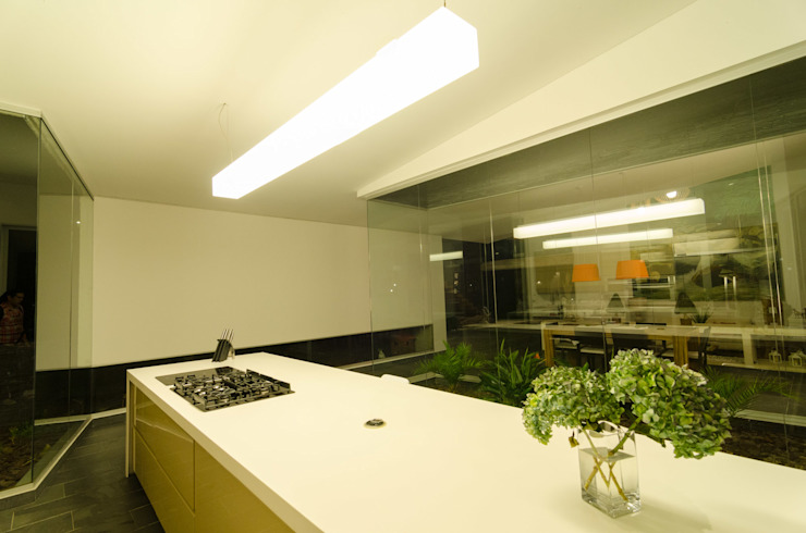 PLANTA BAJA ESTUDIO DE ARQUITECTURA Kitchen