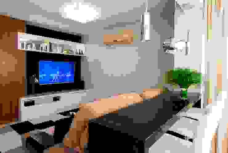 Apartamento Centro - Florianópolis por Cristine V. Angelo Boing e Fernanda Carlin da Silva Moderno