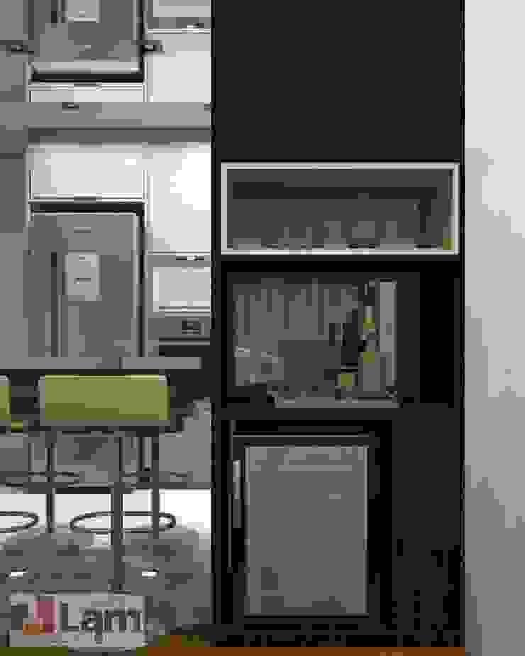 Adega - Projeto por LAM Arquitetura   Interiores