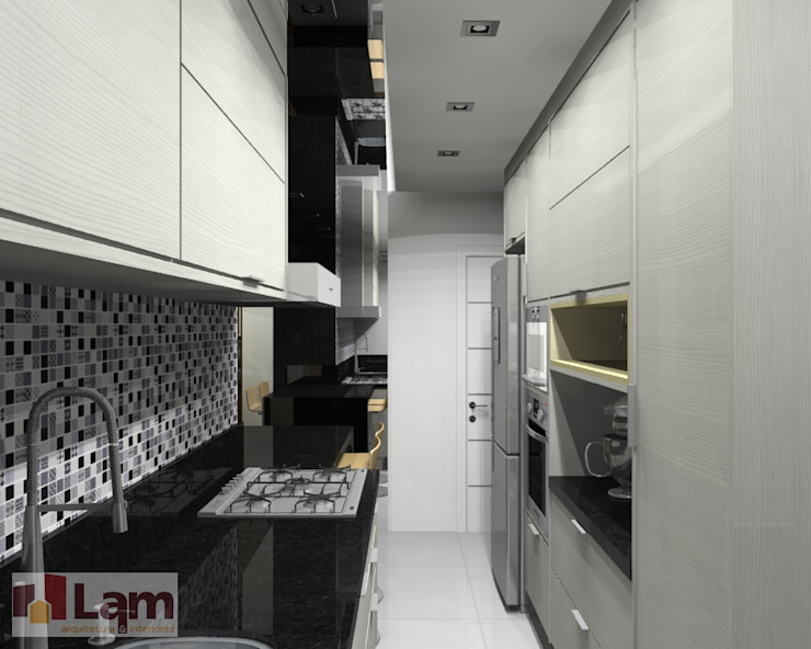 Cozinha - Projeto por LAM Arquitetura   Interiores