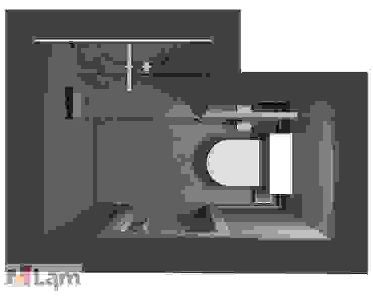 Lavabo - Projeto por LAM Arquitetura   Interiores