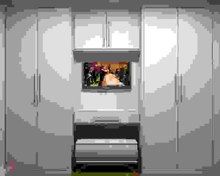 Closet - Projeto por LAM Arquitetura   Interiores