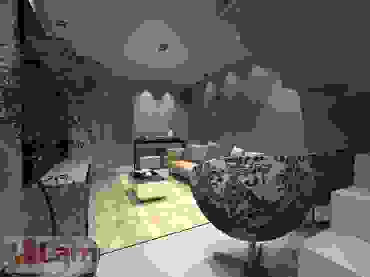 Sala de Estar - Projeto por LAM Arquitetura | Interiores