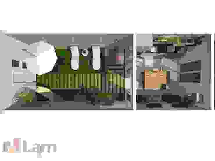 Varanda Gourmet - Projeto por LAM Arquitetura | Interiores