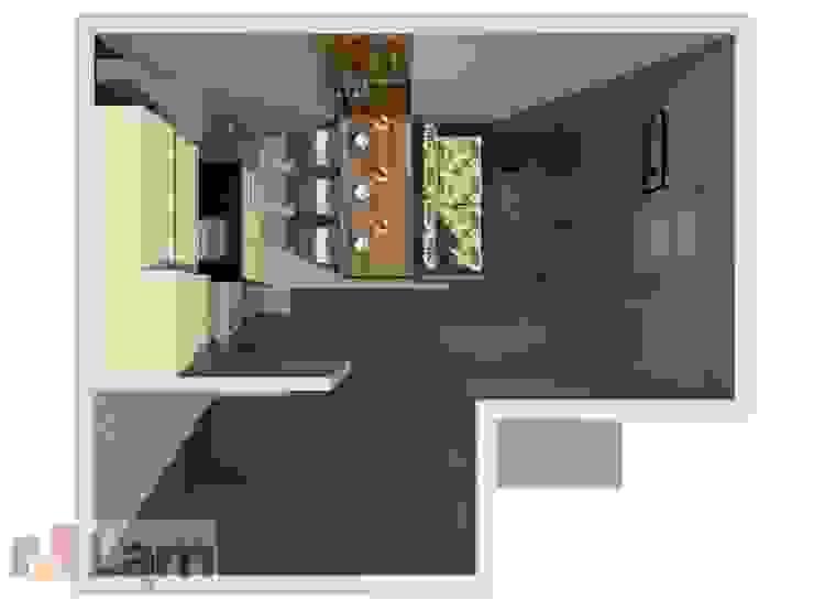 Vista Superior - Projeto por LAM Arquitetura | Interiores