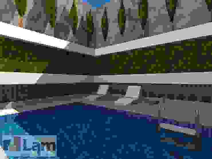 Área de Lazer - Projeto por LAM Arquitetura | Interiores