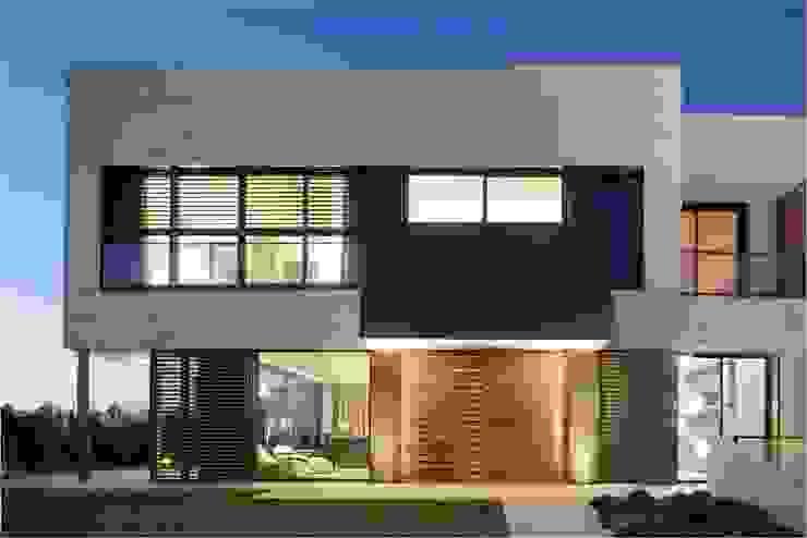 8 VILLAS GOLF PERELADA (GIRONA) Casas de estilo moderno de ruiz narvaiza associats sl Moderno