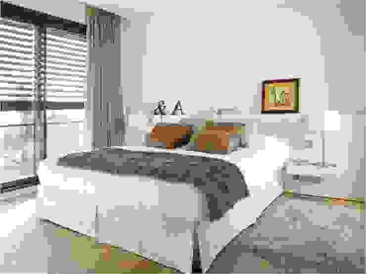 Dormitorios de estilo moderno de ruiz narvaiza associats sl Moderno