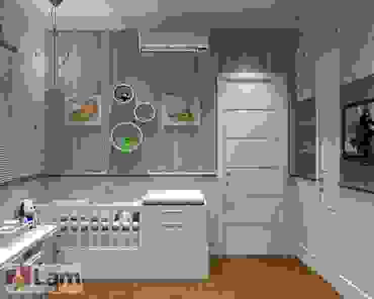 Quarto do Bebê - Projeto por LAM Arquitetura | Interiores