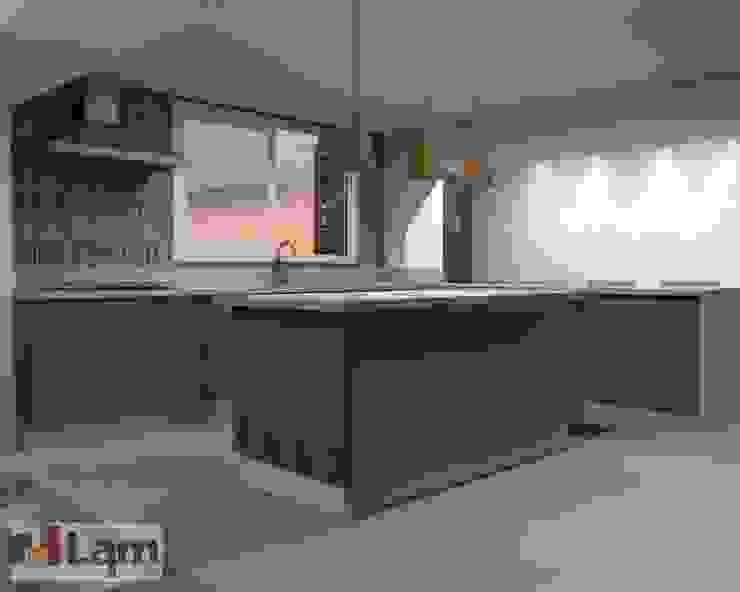 Cozinha / Sala de Jantar - Projeto por LAM Arquitetura | Interiores