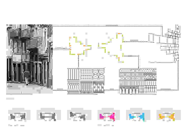 Varandas Casas ecléticas por FAHR 021.3 Eclético
