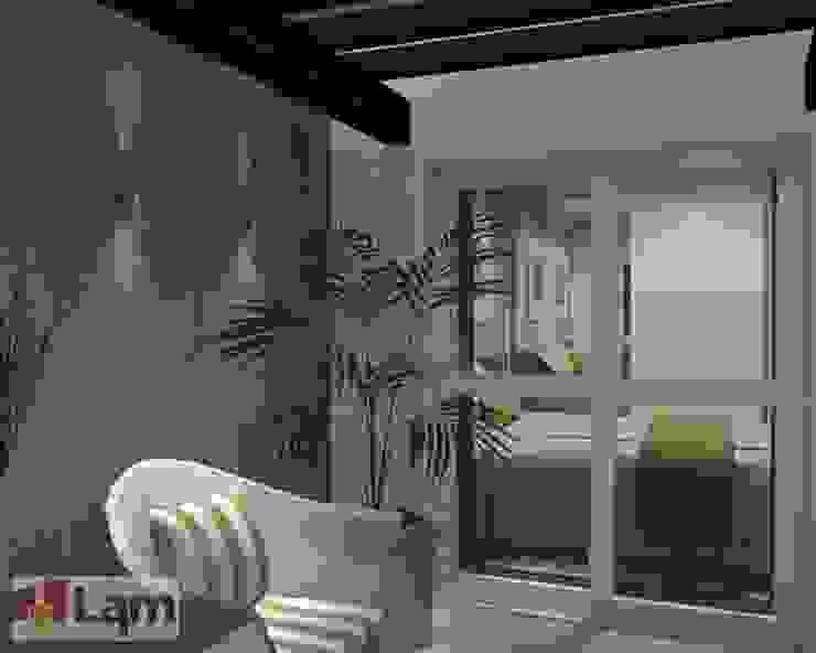 Varanda - Projeto por LAM Arquitetura | Interiores