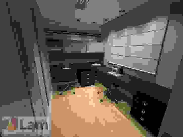 Home Office - Projeto Escritórios modernos por LAM Arquitetura | Interiores Moderno