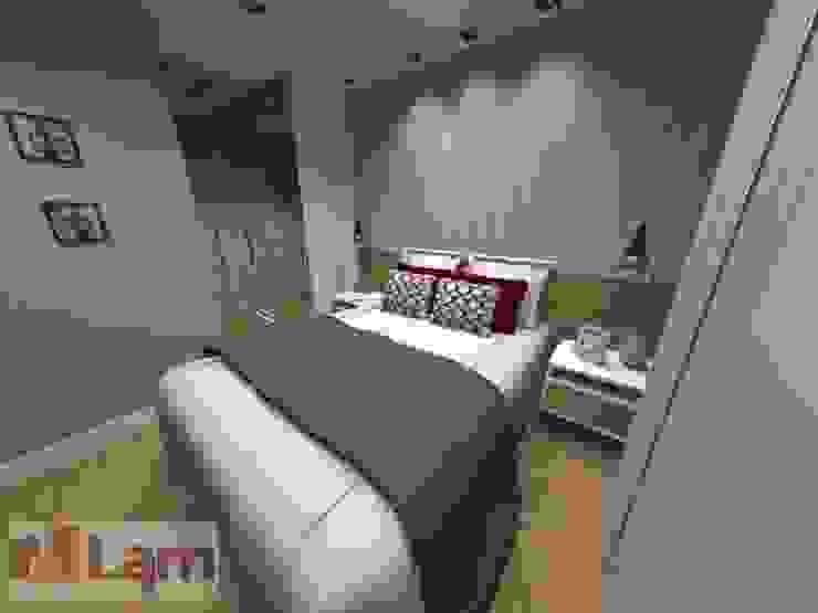 Dormitório - Projeto Quartos modernos por LAM Arquitetura | Interiores Moderno