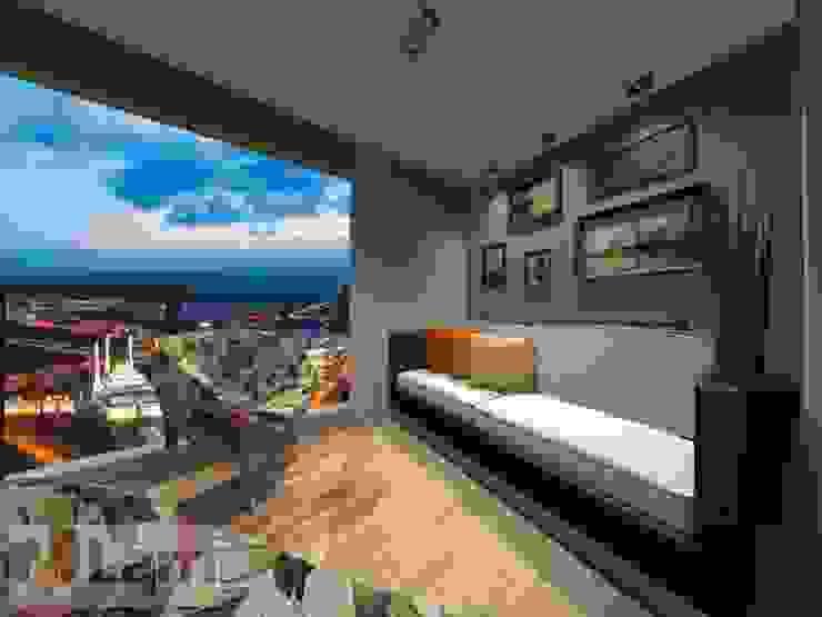 Terraço - Projeto Varandas, alpendres e terraços modernos por LAM Arquitetura | Interiores Moderno