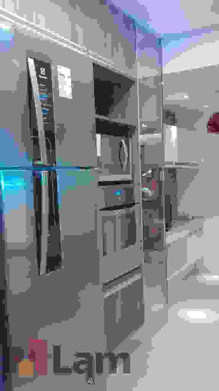 Cozinha - Final Cozinhas modernas por LAM Arquitetura | Interiores Moderno