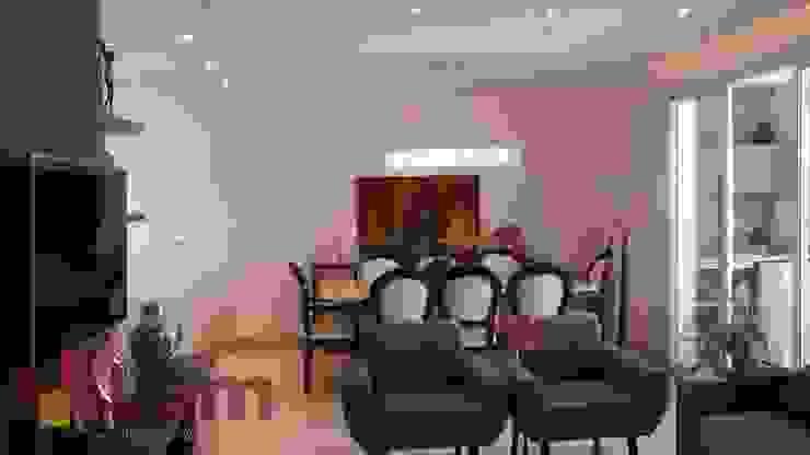 Sala de Jantar - Final Salas de jantar modernas por LAM Arquitetura | Interiores Moderno