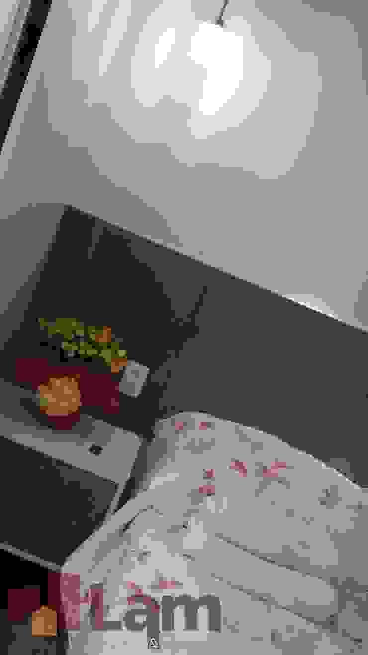 Dormitório - Final Quartos modernos por LAM Arquitetura | Interiores Moderno