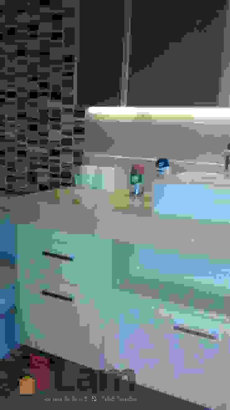 Banheiro - Final Banheiros modernos por LAM Arquitetura | Interiores Moderno