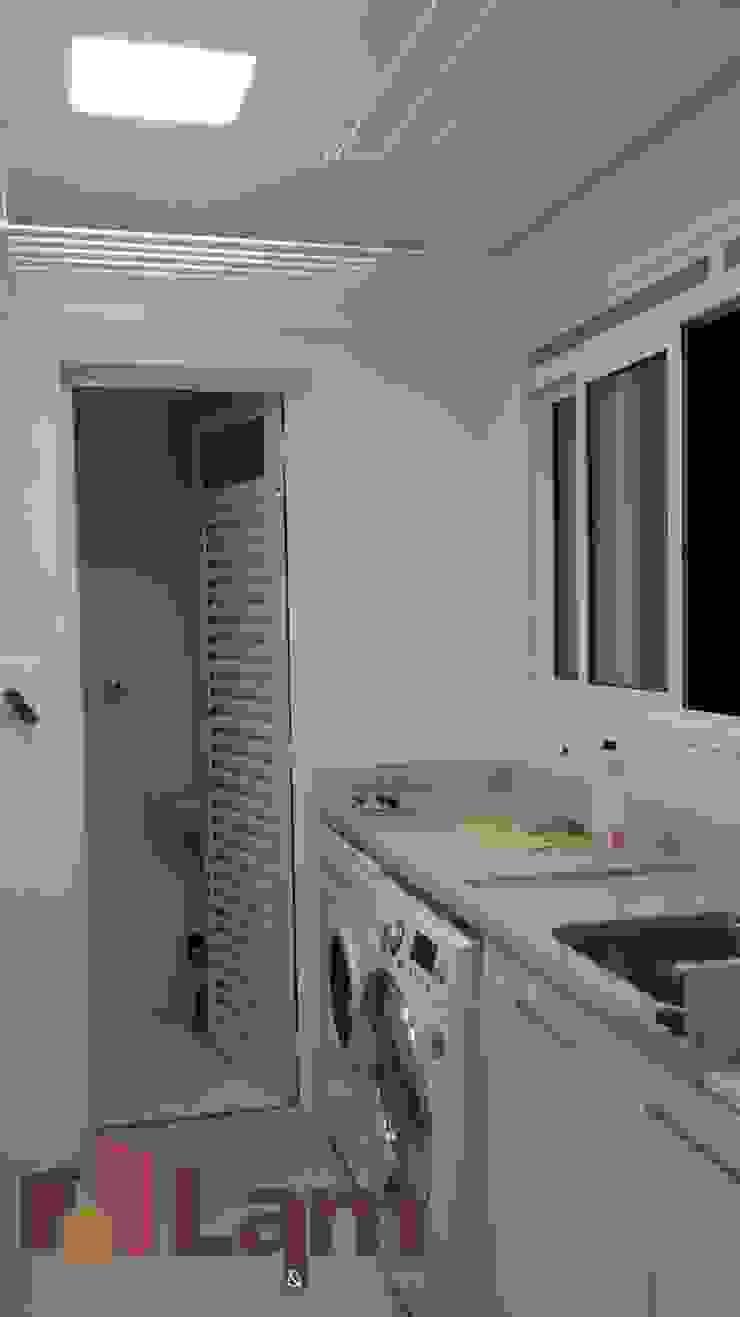 Área de Serviço - Final Cozinhas modernas por LAM Arquitetura | Interiores Moderno