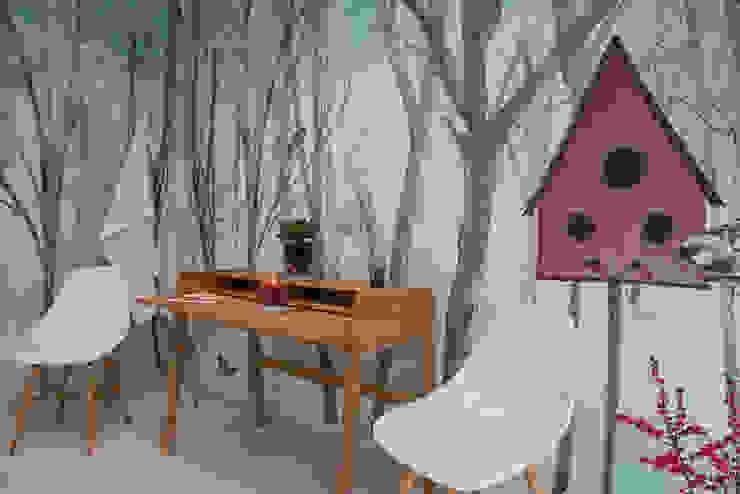 Silvia Betancourt Designs Dinding & Lantai Modern Kertas Multicolored