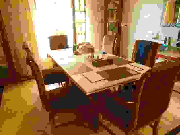 Rita Mody Joshi & Associates Phòng ăn phong cách hiện đại
