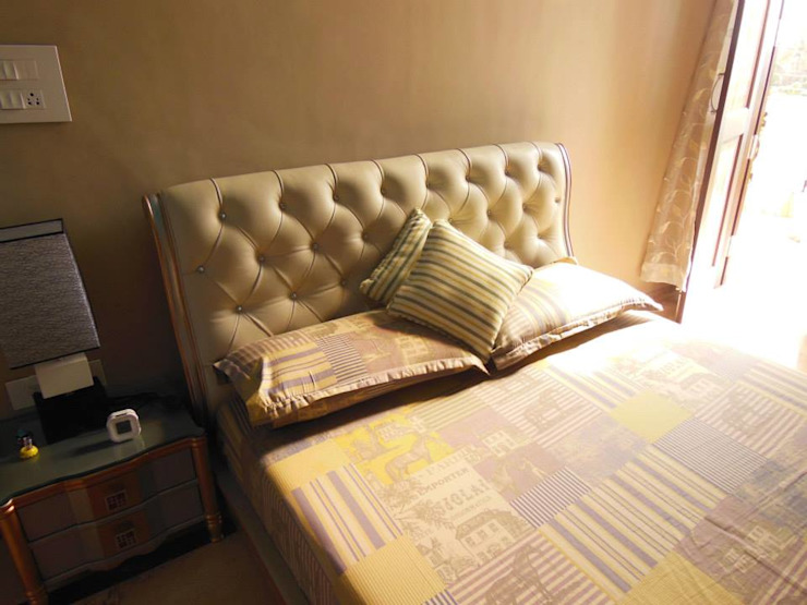 Residence. Modern style bedroom by Rita Mody Joshi & Associates Modern