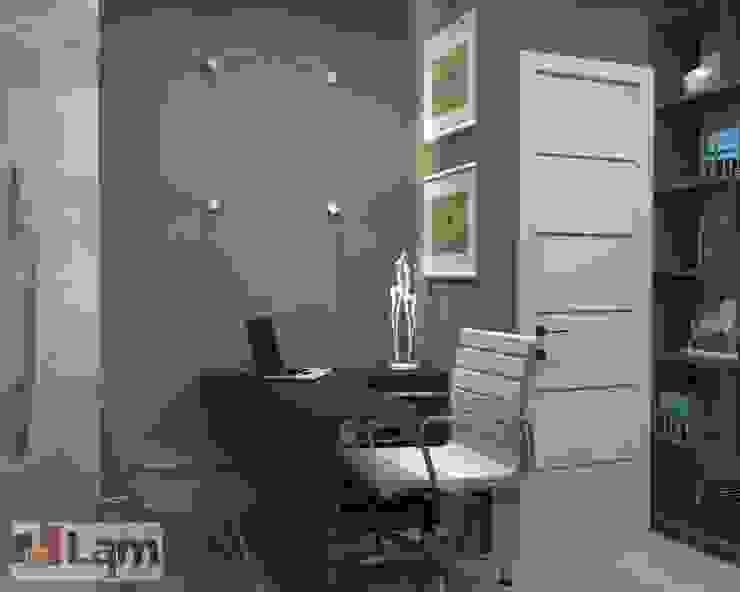 Sala de Trabalho - Projeto por LAM Arquitetura | Interiores