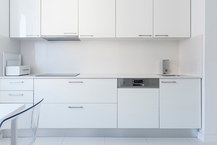 Remodelação AMH Cozinhas modernas por Ponto Cúbico Moderno