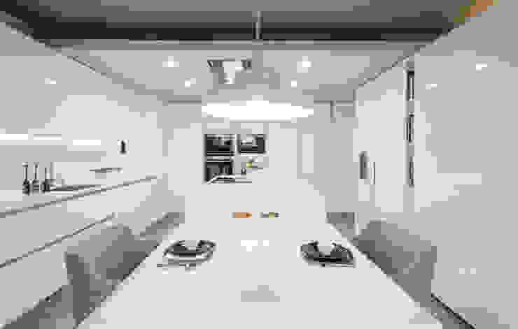 Simples e único Cozinhas modernas por FABRI Moderno
