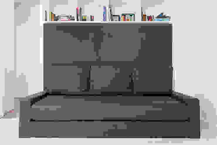 Camera da letto moderna di Ponto Cúbico Moderno
