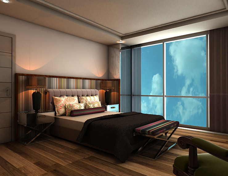 CCT 114 Project in Maltepe Modern Yatak Odası CCT INVESTMENTS Modern