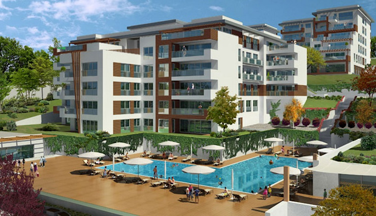 CCT 51 Project in Buyukcekmece Modern Evler CCT INVESTMENTS Modern