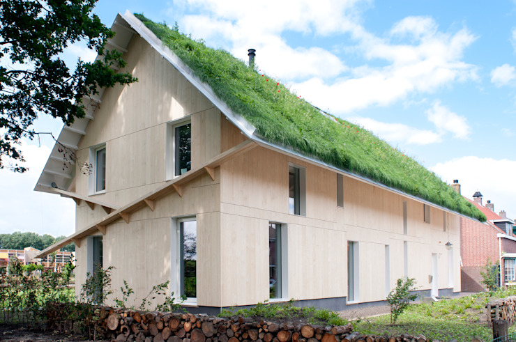 現代房屋設計點子、靈感 & 圖片 根據 RO&AD Architecten 現代風
