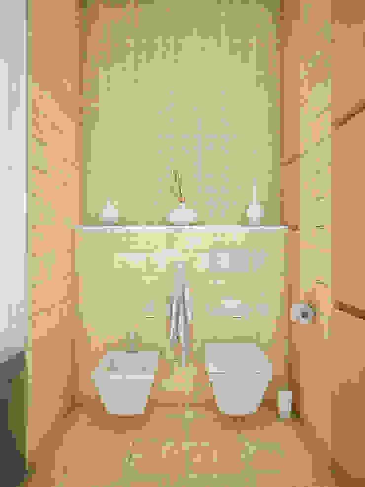 Восточные Сказки Ванная в азиатском стиле от Tatiana Zaitseva Design Studio Азиатский