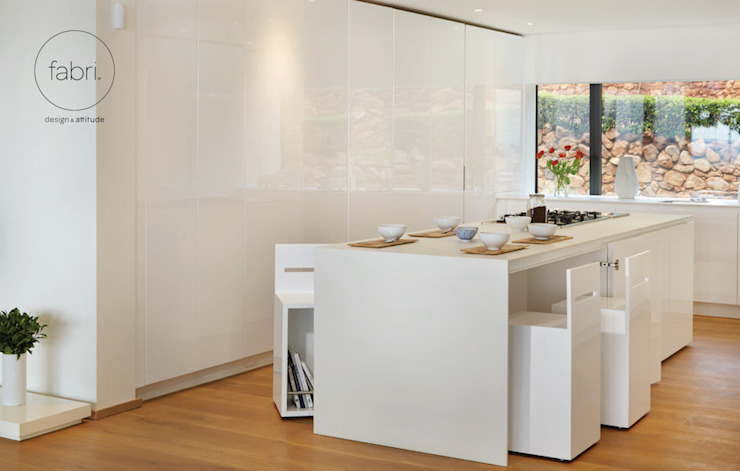 Minimalist kitchen by FABRI Minimalist