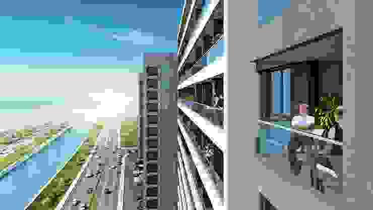 Moderner Balkon, Veranda & Terrasse von CCT INVESTMENTS Modern