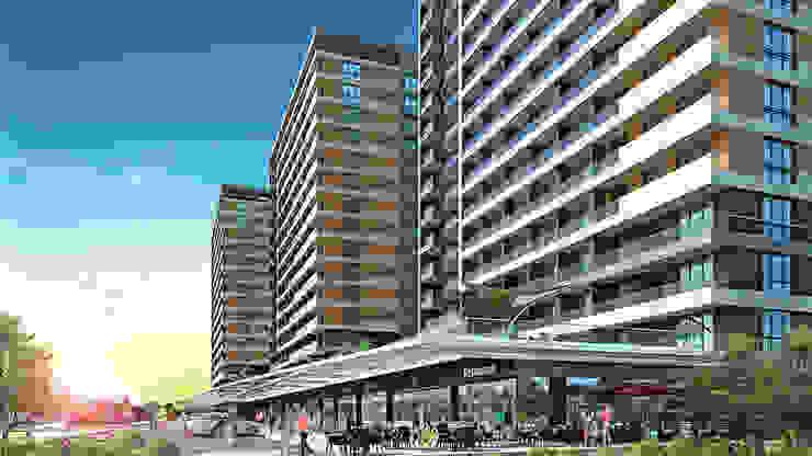 Moderne Häuser von CCT INVESTMENTS Modern