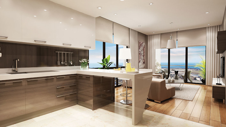 Modern kitchen by CCT INVESTMENTS Modern